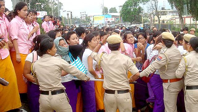 Manipur nung police-i kaketshir ka tepset