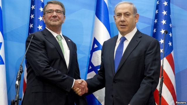 US Defence Secretary, Ashton Carter-i Netanyahu den ajuruteper