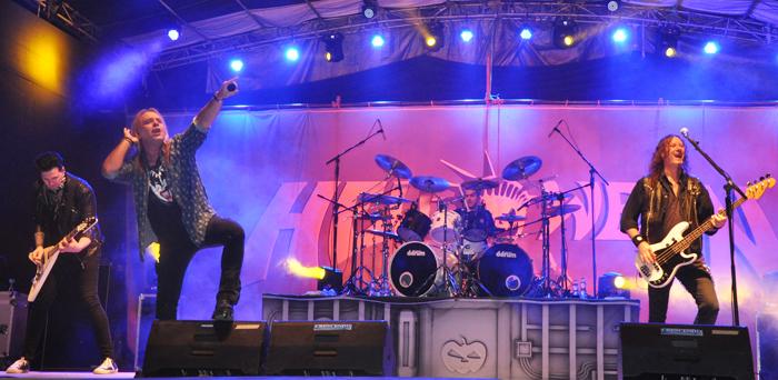 indian music festivals: hornbill international music festival