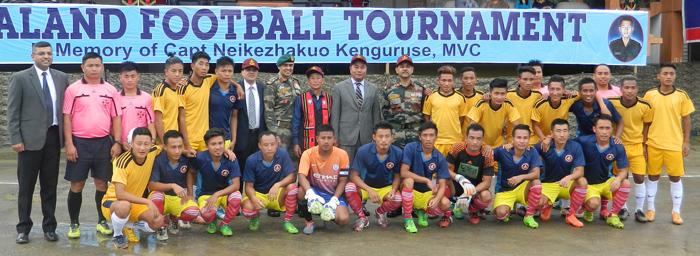 Kohima, sep 13: Naga FC aser Nao-Mei nung asayartem den DGP, IGAR(N) aser tanga tongtibang nisungtem Kohima Local Ground nung tangokba noksa nung angur.