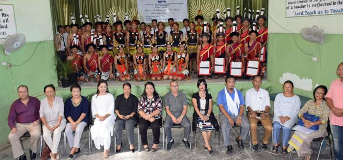 Dimapur nung District level Kala Utsav sentong agi