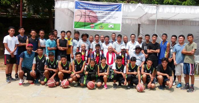 Dorians Society-i achaayanga basketball clinic ka katar