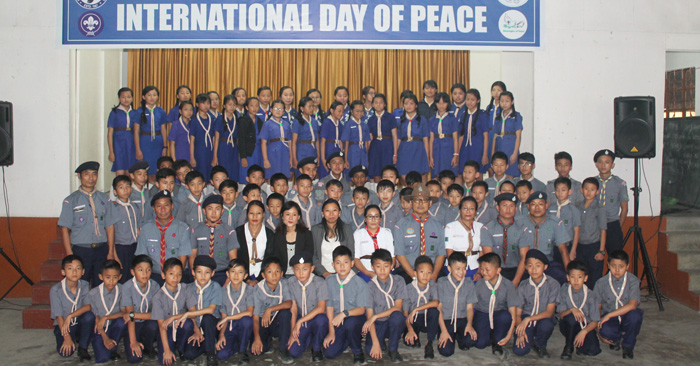 Kohima nung International Day of Peace anogomong mongogo
