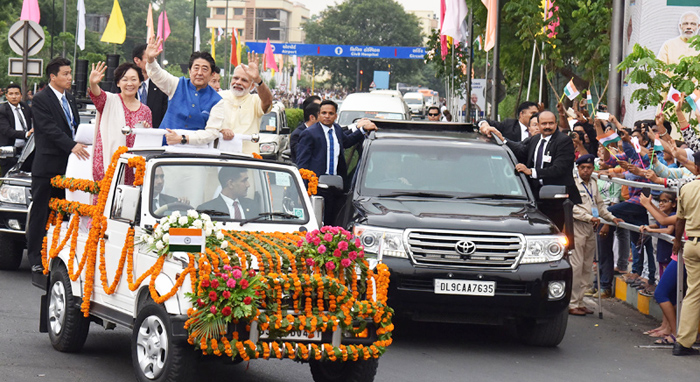 Japan PM Shinzo Abe-i India semdanger