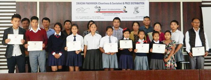 Swachh Pakhwada competition under DMA SSA Kohima district