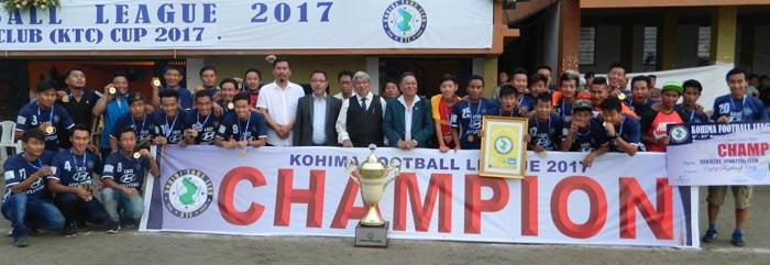 Khriekesa FC puri KTC Cup kokogo