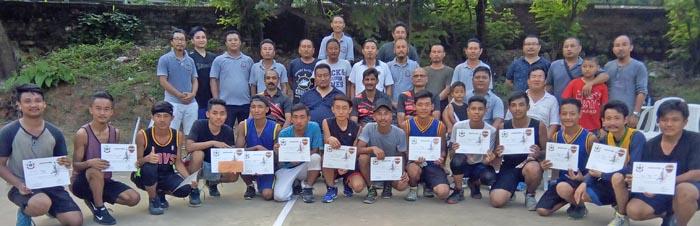 Dimapur nung basketball clinic aka