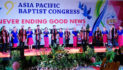9 buba Asia Pacific Baptist Congress nung Syntonia choir-i shilem agi