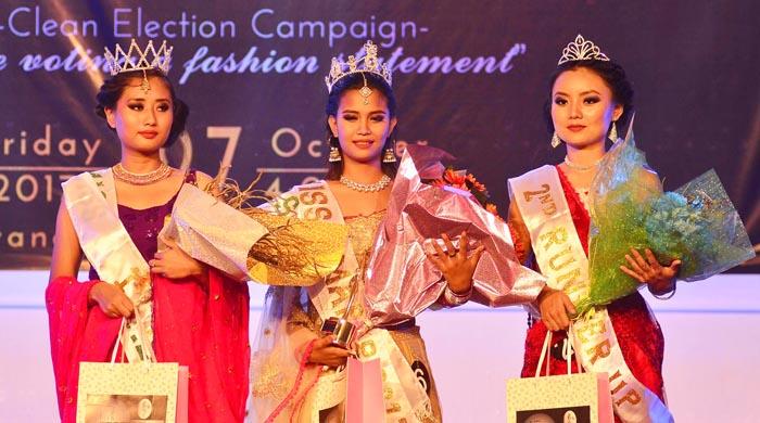 Epibeni-i Miss Dimapur 2017 takok korang nguogo