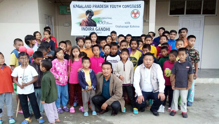 NPYC-i Indira Gandhi sor küm 100 ajungbamong among