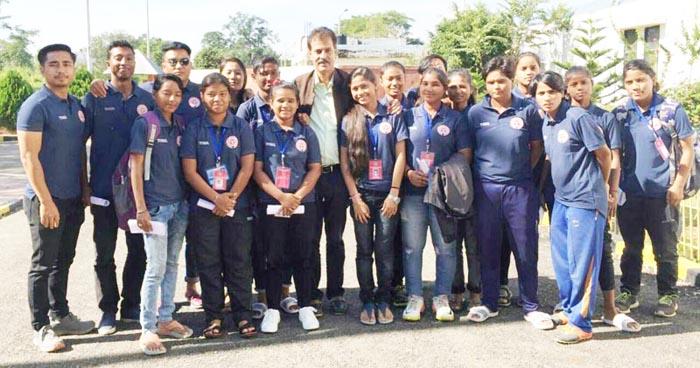Nagaland Women (U-19) team qualify süogo