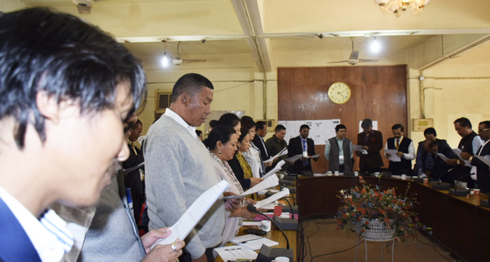 Dimapur DC & DEO-i Dmr AC ajak nungi candidates den senden amen