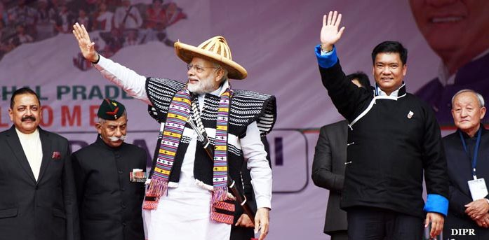 Ato Kilonser Modi-i Arunachal semdangba China nungeri anem
