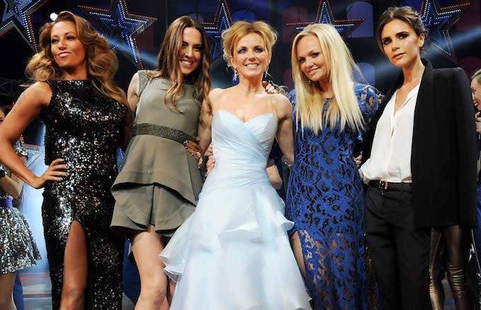 Spice Girls teloki UK aser US nung kentena senzütsü